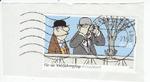 abgestempelte Briefmarke